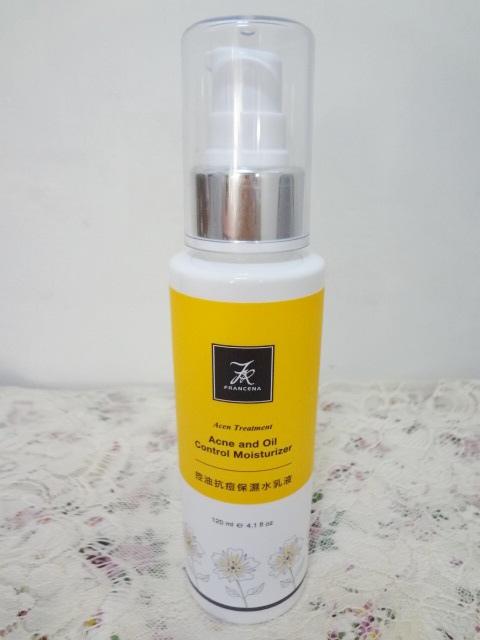 francena 控油抗痘保濕水乳液